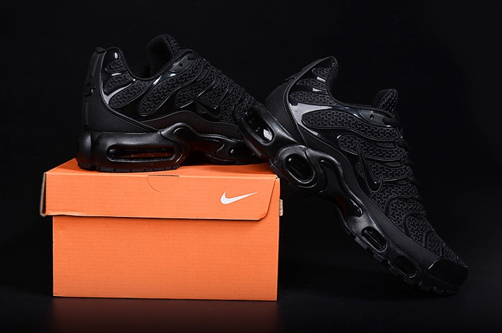 64f394a46e63f4 Prev Nike Air Max Plus TN KPU Tuned Men Sneakers Running Trainers Shoes All  Black