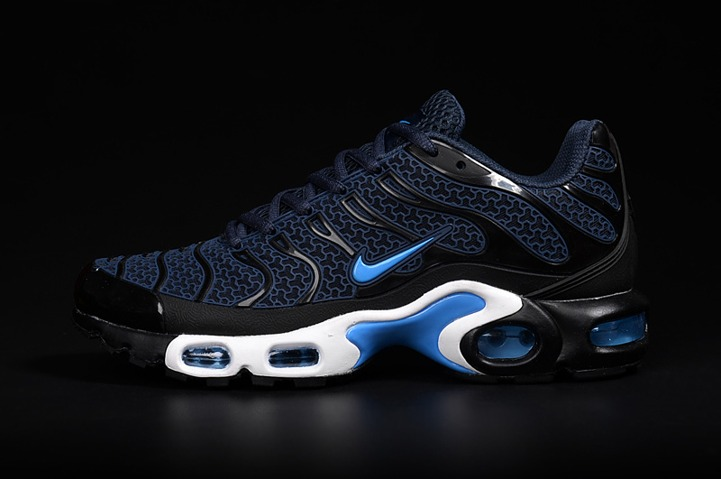 save off 56448 d0e79 Nike Air Max Plus TN KPU Tuned Men Sneakers Running Trainers Shoes Navy  Black White