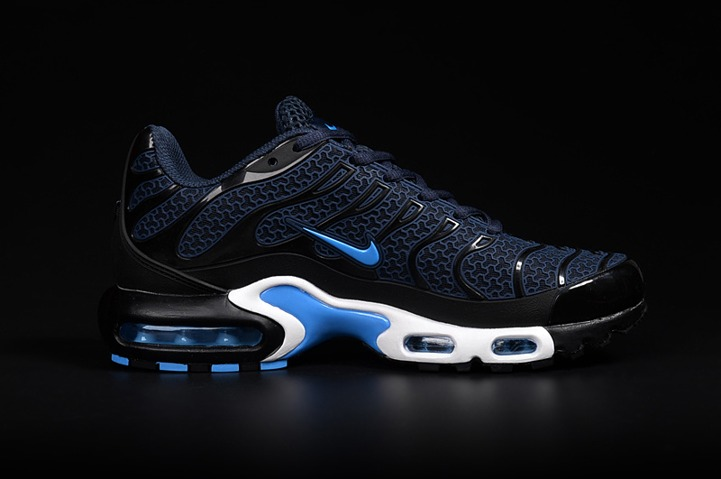 économiser 95af5 fb136 Nike Air Max Plus TN KPU Tuned Men Sneakers Running Trainers Shoes Navy  Black White