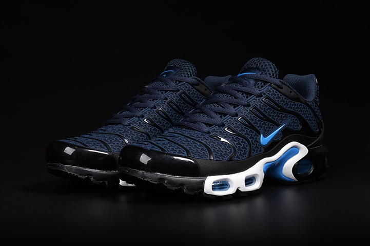 Nike Air Max Plus TN KPU Midnight White Mens Running Shoes NIKE ND000732