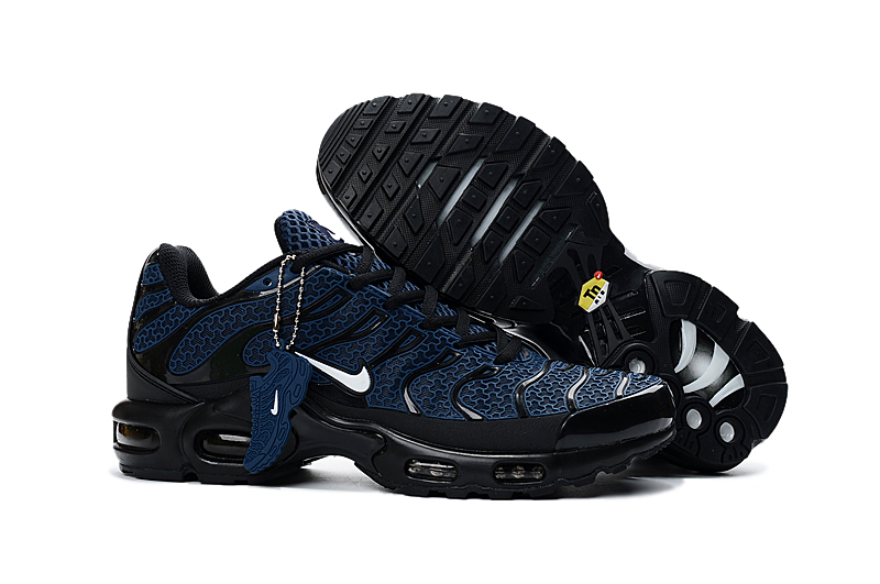 2178bda61b85 Prev Nike Air Max Plus TXT TN KPU Black Blue Men Sneakers Running Trainers  Shoes 604133-