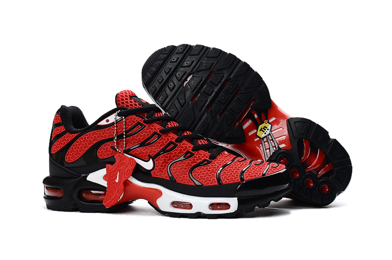 separation shoes 90f06 2d7e8 Prev Nike Air Max Plus TXT TN KPU Black Red Men Sneakers Running Trainers  Shoes 604133-. Zoom