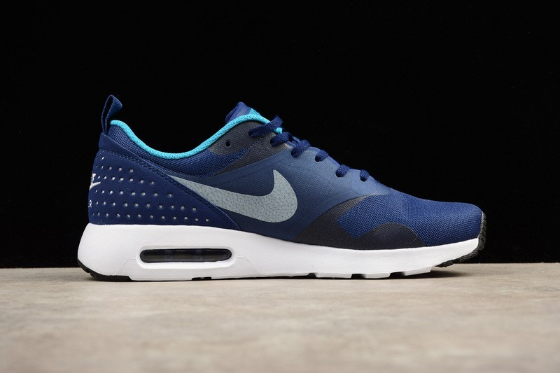 Nike Air Max Tavas Running Shoes Blue Grey White Deep 705149 405