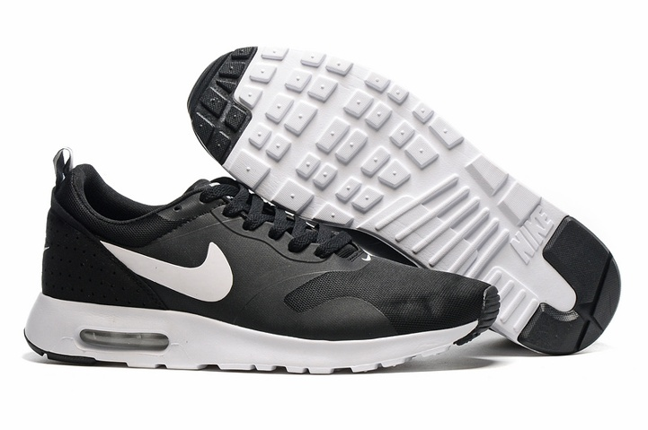 reputable site 72244 a0699 Prev Nike Air Max Tavas Running Sneakers Black White Black Men Trainers  705149-009. Zoom