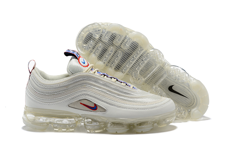 3e77aea2277a0 Nike Air Vapormax 97 Unisex Running Shoes White All - Sepsport