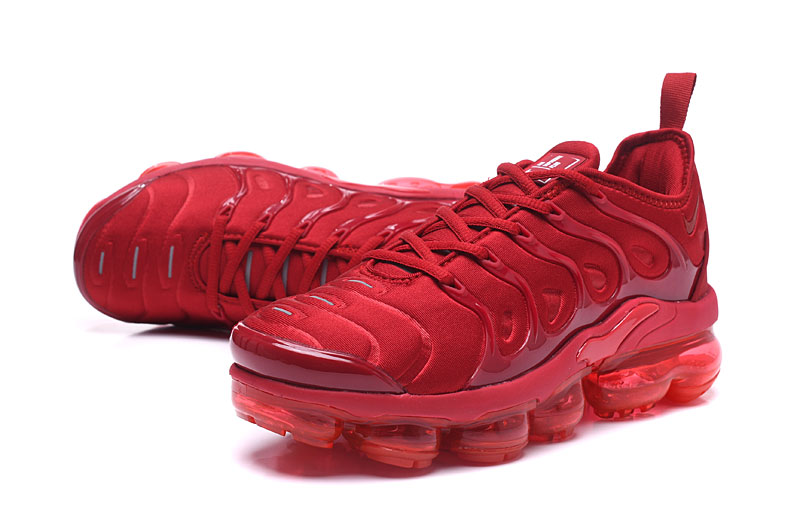 Nike Air Vapor Max Plus TN TPU Running Shoes Chinese Red All