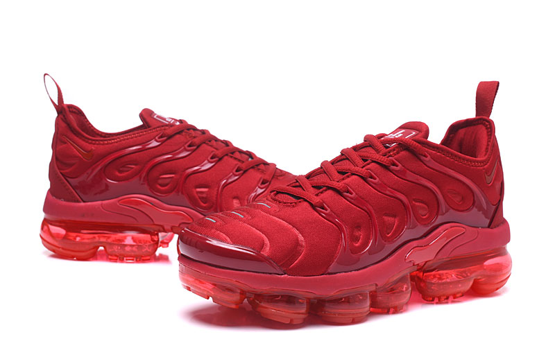 new style 1905f 3003e Nike Air Vapor Max Plus TN TPU Running Shoes Chinese Red All
