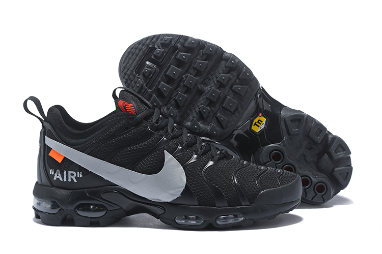 9e43dee9b49fee Prev Nike Air Vapormax TN 2018 Plus TN Running Shoes Men Black Silver  AA0877-100. Zoom