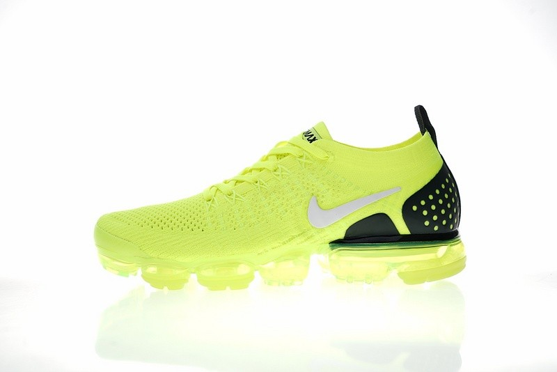 a51d24856c76 Prev Nike Air VaporMax Flyknit 2.0 W Fluorescent Green Grey Black 942842-701