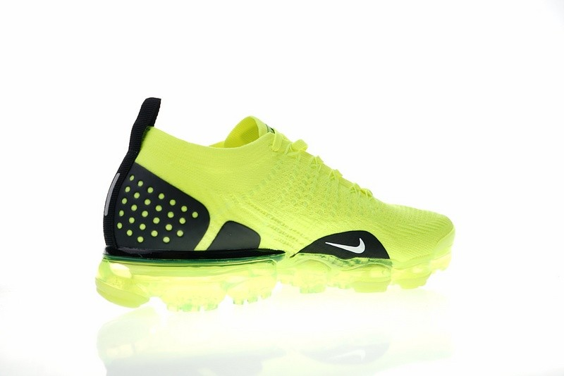 c462187d75c8 ... Nike Air VaporMax Flyknit 2.0 W Fluorescent Green Grey Black 942842-701  ...