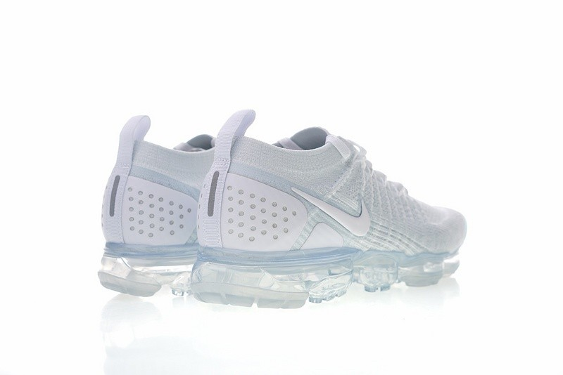 new styles ecf2f c1c6e Nike Air VaporMax Flyknit 2.0 White Vast Grey Running Shoes 942842-105