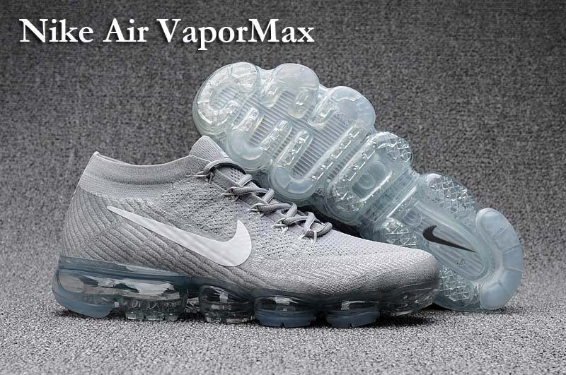 quality design 4526a dad59 Prev Nike Air VaporMax Men Women Running Shoes Sneakers Trainers Cool Grey  849560-100. Zoom