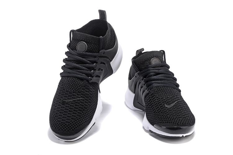 another chance best sale best selling Nike Air Presto Flyknit Ultra Black White Running Shoes Sneakers 835570-001