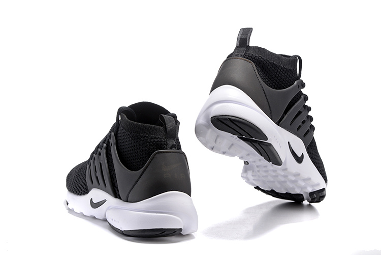 huge selection of 9702b 2abfc ... Nike Air Presto Flyknit Ultra Black White Running Shoes Sneakers  835570-001