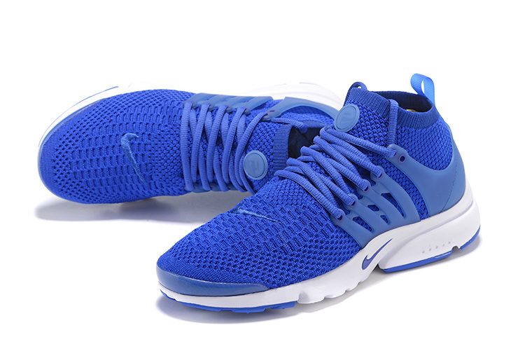 Nike Air Presto Flyknit Ultra Racer Blue White Men Women Shoes Sneakers 835570 400