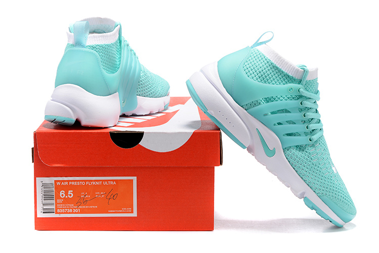 top fashion discount shop various styles Nike Air Presto Flyknit Ultra Women Shoes Hyper Turquoise White ...