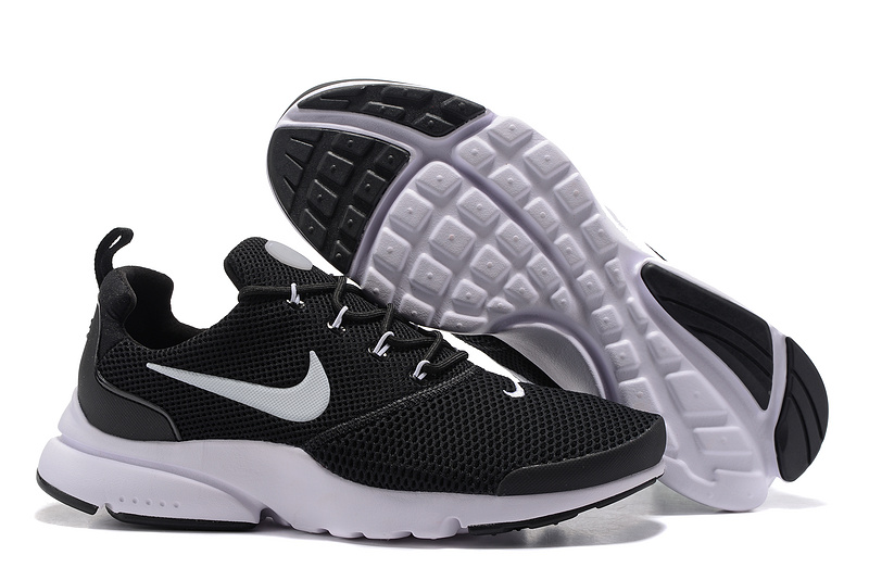 8be0539fb711 Nike Air Presto Fly Uncage black white men Running Walking Shoes ...