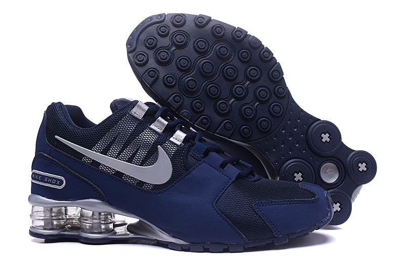 buy online 78eb1 b8074 Nike Air Shox Avenue 802 Navy Blue White Men Shoes - Sepsport