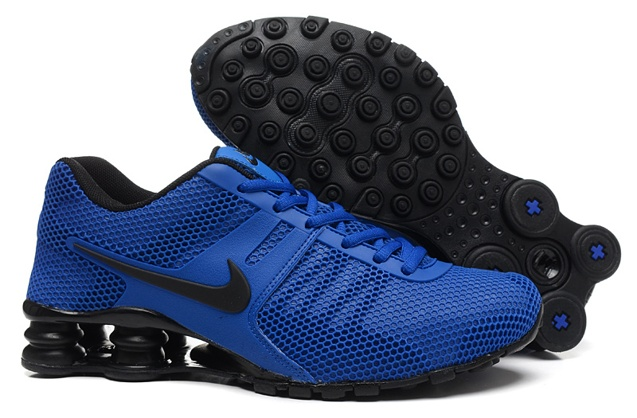 on sale 584c0 21dd0 Prev Nike Shox Current 807 Net Men Shoes Royal Blue Black