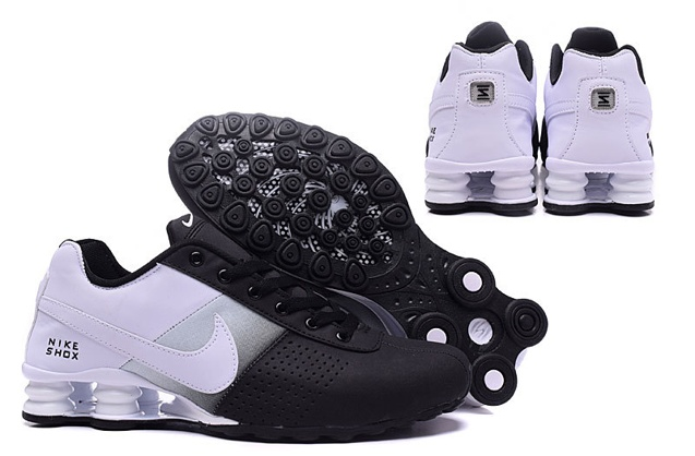 Nike Shox Deliver Men Shoes Fade Black White Grey Casual Trainers Sneakers 317547