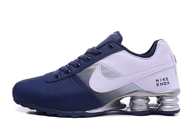 Nike Shox Deliver Men Shoes Fade White Black Casual Trainers Sneakers 317547