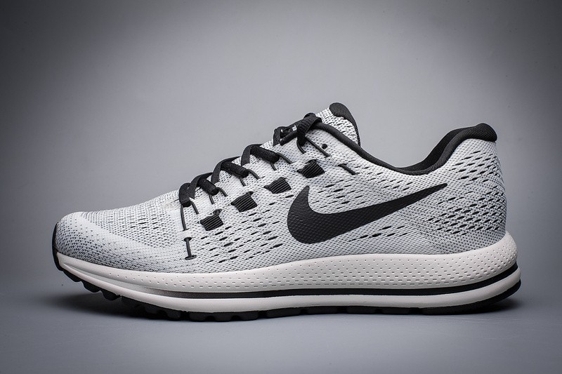 wholesale dealer 3812c dcc29 Nike Air Zoom Vomero 12 Black Grey Running Shoes Lace Up 863762-003 ...