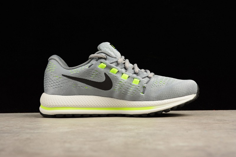 0b32f84797b52b Nike Air Zoom Vomero 12 Grey Running Shoes Lace Up 863763-002 - Sepsport