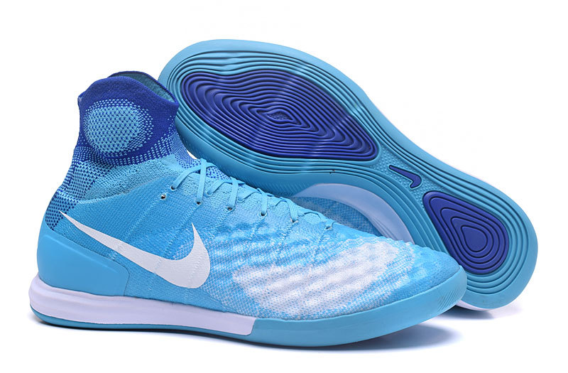 ca7691e18 Prev Nike MagistaX Proximo II IC MD Soccers Shoes ACC Waterproof Blue White.  Zoom