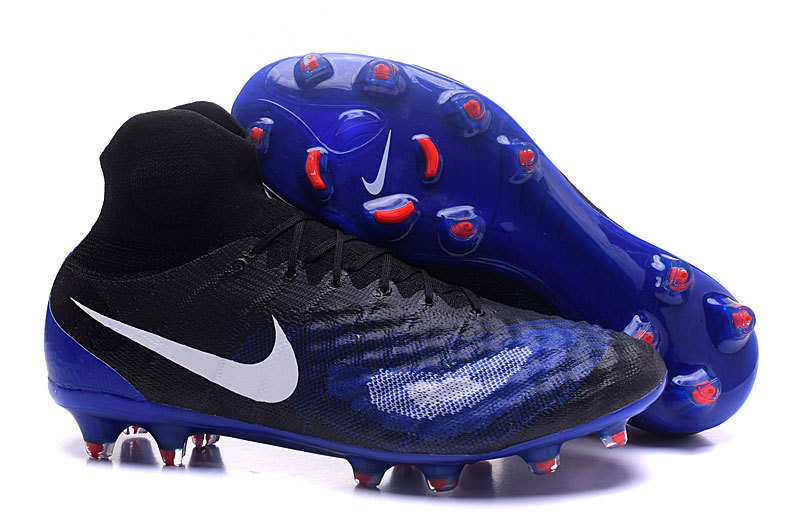 9926f7b4d67bf Prev Nike Magista Obra II FG Soccers Football Shoes ACC Navy Blue Black.  Zoom