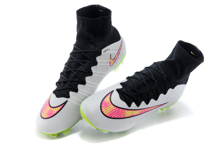 official photos 0f344 f6010 Nike Mercurial Superfly FG ACC Soccer Cleats White Black Volt Pink  641858-170