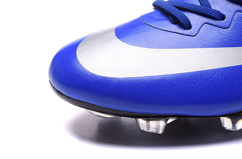 the latest 74172 69d2b ... Nike Mercurial Victory V CR7 FG Soccers Cleat Cristiano Ronaldo Royal  Blue 684878-404