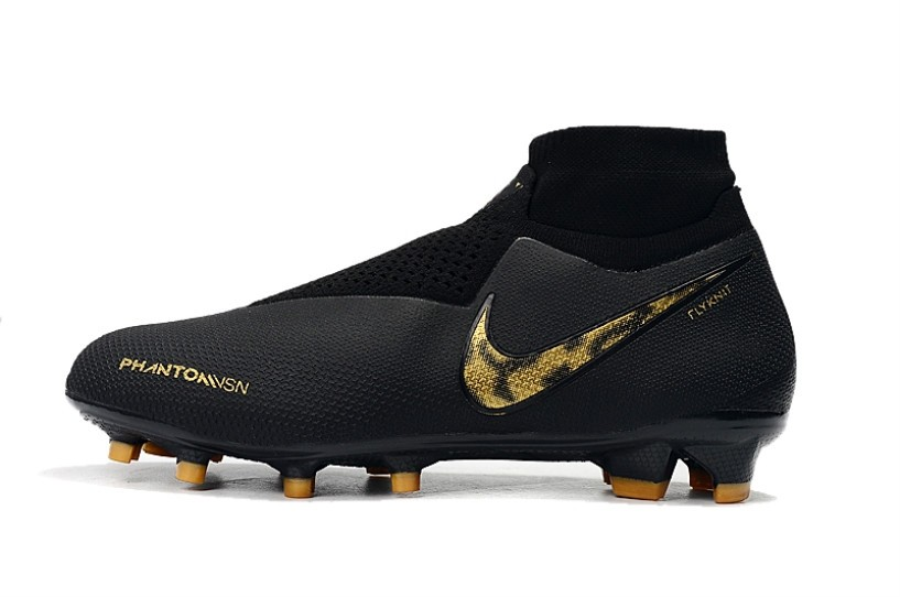 019939e0d Nike Phantom VSN Elite DF FG Black Lux Metallic Gold AO3262-007 ...