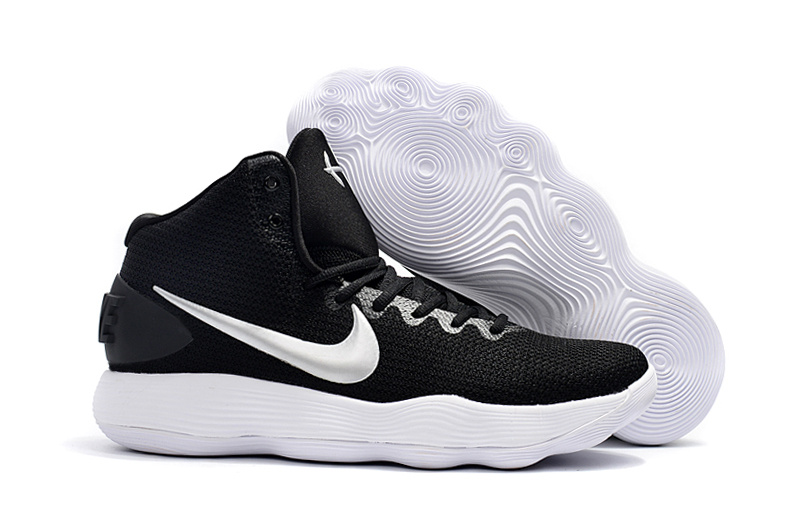 03a455df3acf Nike Hyperdunk 2017 EP Youth Big Kid black white basketball Shoes ...