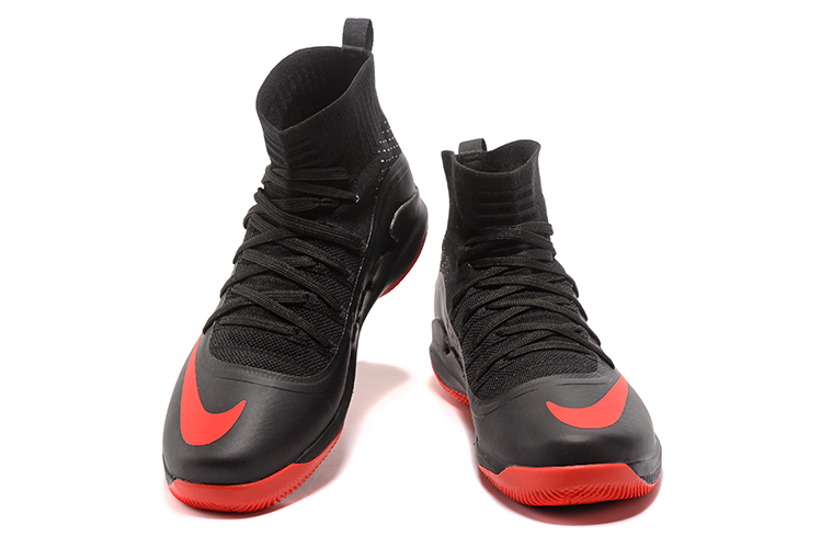 timeless design 65c64 5a54d ... Nike Hyperdunk 2017 Men Basketball Shoes Black Red New ...
