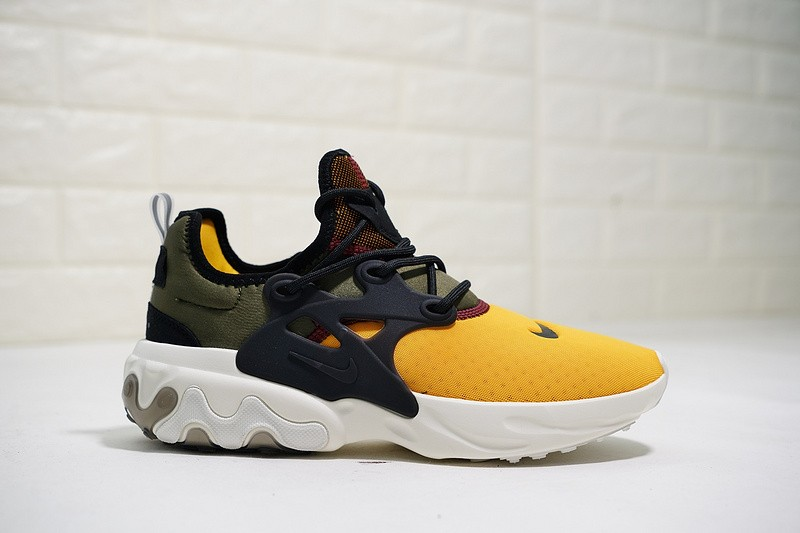 newest 5240d 0fffc ... Nike Epic React Presto 19SS Olive Green Yellow Black White AQ2268-004  ...