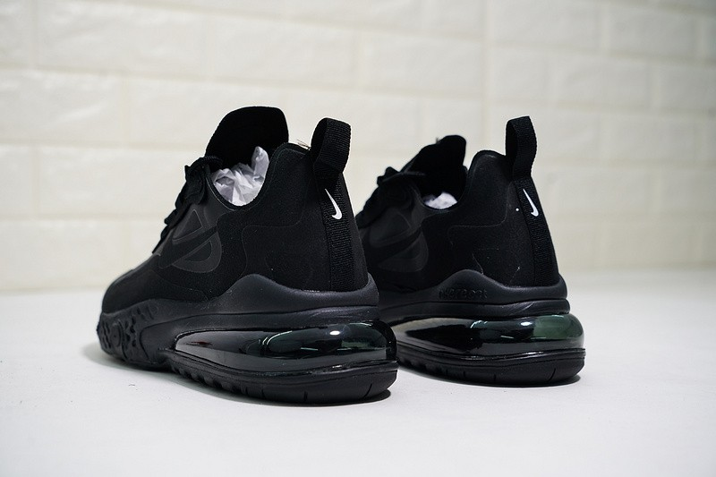 b7bdf485534a2 ... Nike React Air Max Triple Black Half Palm Cushion Running Shoes AQ9087-002  ...
