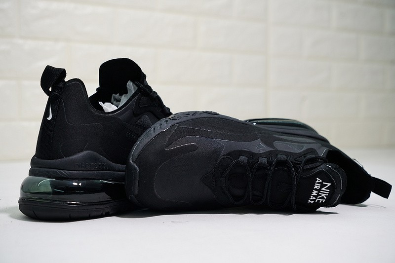 a1a0f655cb074 ... Nike React Air Max Triple Black Half Palm Cushion Running Shoes AQ9087 -002