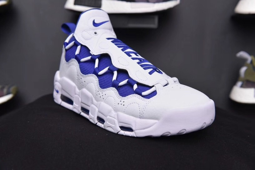 Sneaker Room x Nike Air More Money QS White Blue AJ7383 141