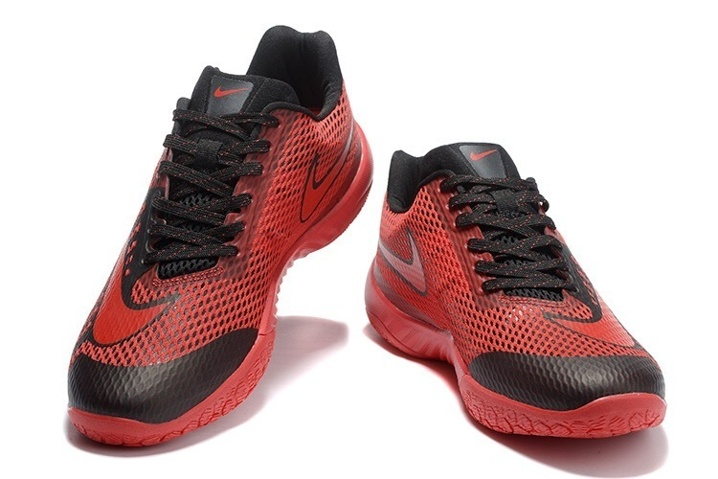 new styles 46b11 d71f5 ... Nike Hyperlive EP Men Basketball Shoes University Red Black Wolf Grey  820284-600 ...