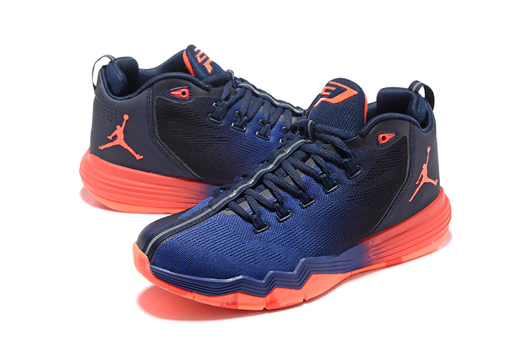 get online on wholesale 100% genuine Nike Air Jordan CP3 IX AE Obsidian Infrared Royal Retro Men Basketball  Shoes 833909-405