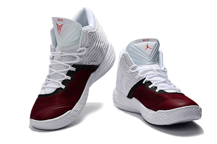 intenzionale cooperare evasione  Nike Jordan Melo M13 XIII white red Men Basketball Shoes - Sepsport