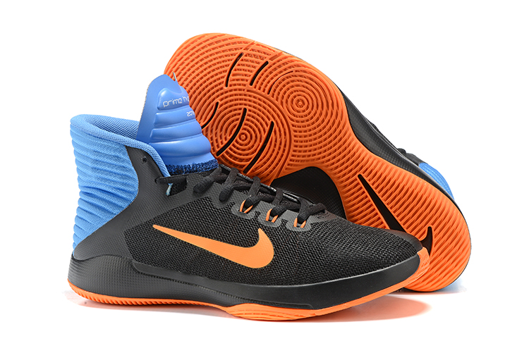 c5f31e1884ff Prev Nike Prime Hype DF 2016 EP Black Blue Orange Mens Basketball Shoes  844788-003