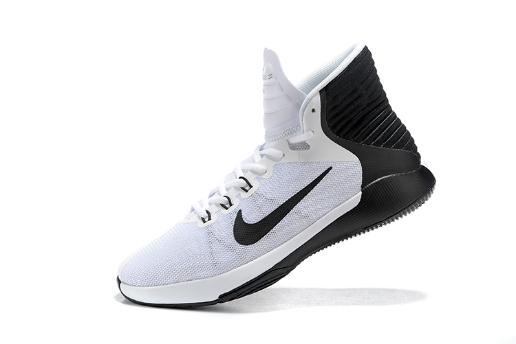 best service 5a6b2 63cd3 Nike Prime Hype DF 2016 EP White Black Mens Basketball Shoes Sneakers  844788-100