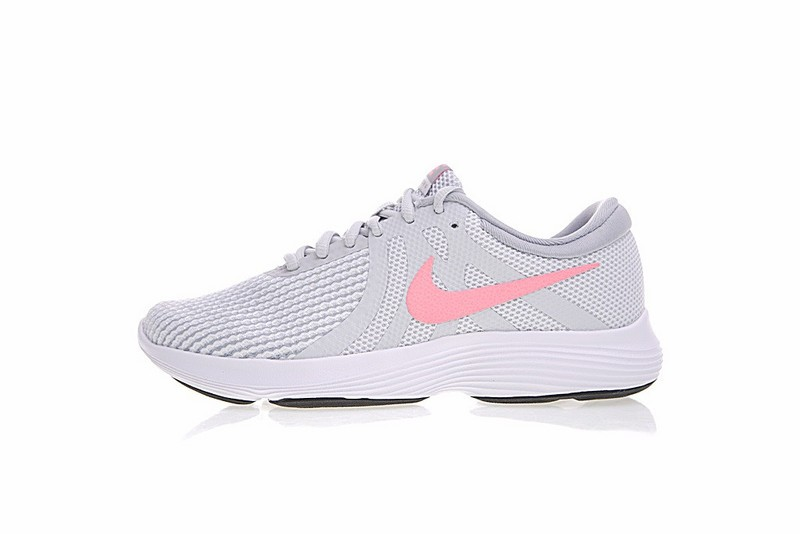 the latest dae9a 35abd Prev Nike Revolution 4 Running Shoes Light Grey Pink ...