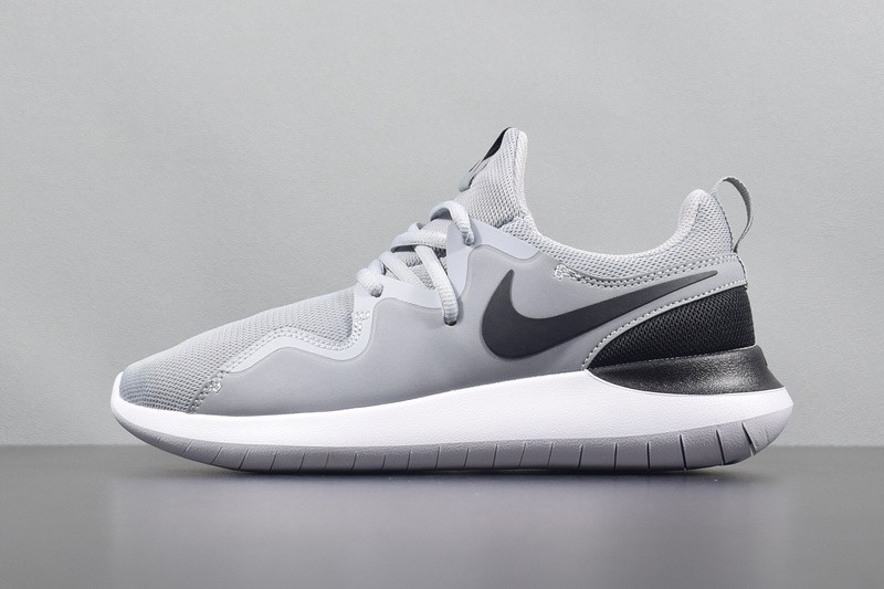 fde6d1549 Prev Nike Tessen Black Wolf Grey White Running Shoes Sneakers AA2160-002.  Zoom
