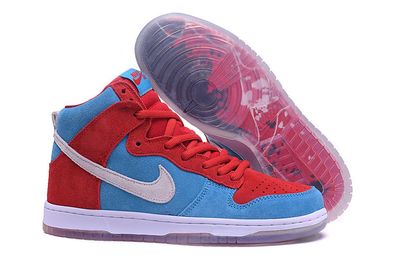 official photos bbe1b 0ad86 ... SB High Skateboarding Unisex Shoes Lifestyle Shoes Sky Blue Red White  313171. Zoom