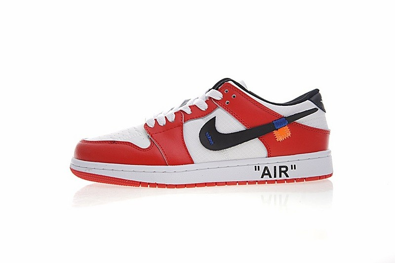 sale retailer 7ba62 a70e3 Prev Off White X Nike Nike Dunk Low Pro Sb Red White Blue Orange  332558-163. Zoom