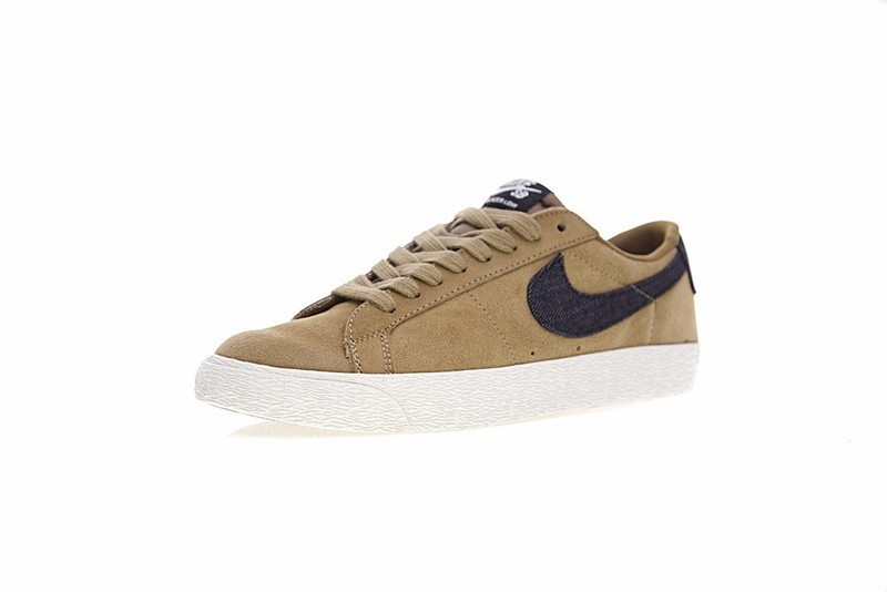 the latest eb610 75410 Nike SB Blazer Low GT Golden Beige Casual Shoes 864347-201