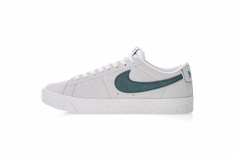 ead3a31cb19 Nike SB Zoom Blazer Low Summit White Deep Jungle 864347-101 - Sepsport