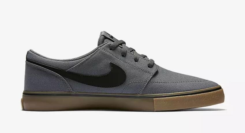 Nike SB Solarsoft Portmore 2 Dark Grey Black 880268 009